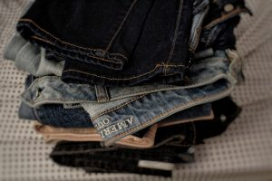 jeans with zippers