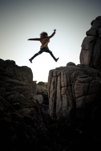 Facing fear: take the leap