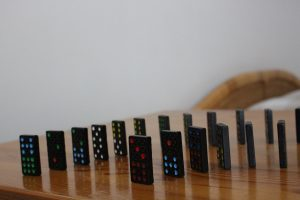 domino effect in a failed relationship